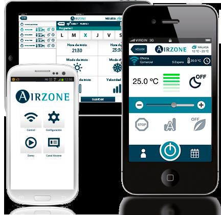 airzone app móvil