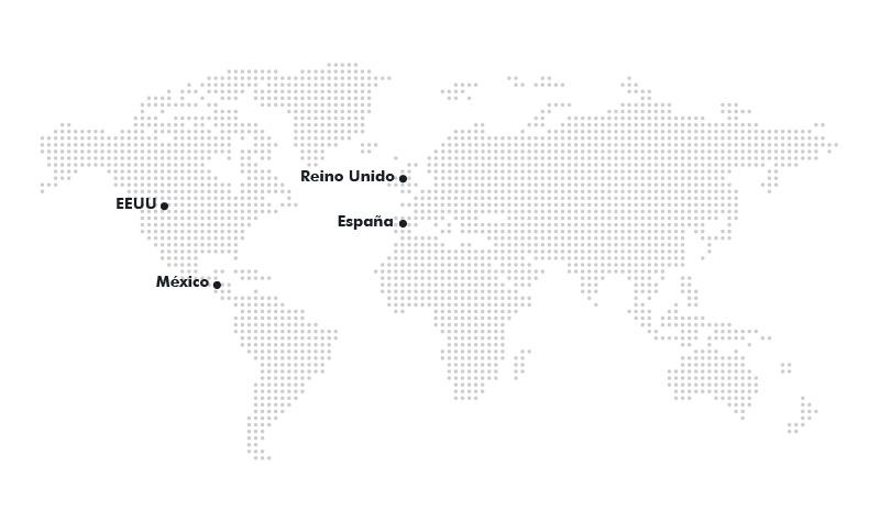 Mapa trabajos desarrollados